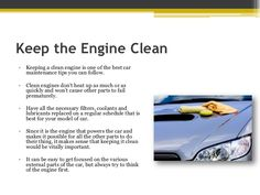 Engine being the most important of a car it needs maintenance time to time.  Some small tips can help you to keep your engine clean.  #engine #carserviceing  #maintenance