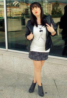 Lady Rebel  , Venca en Faldas, Venca en Camisetas, Pimkie en Chaquetas