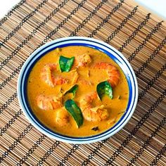 Kerala Style Prawns Curry