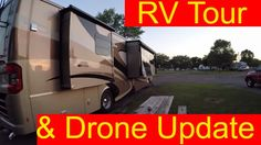 RV Living Class A Motorhome Tour & Drone Problems Solved