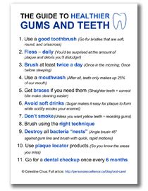 The Guide To Healthier Gums and Teeth - Learn and improve your English language with our FREE Classes. Call Karen Luceti  410-443-1163 to register for classes.  Eastern Shore of Maryland.  Chesapeake College Adult Education Program. www.chesapeake.edu/esl