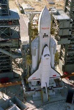 Russian Space Shuttle Buran.