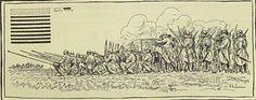 """[To nie jest pełnoprawne źródło, to wizja rysującego, który opierał się na rycinach]  Bronisław Prugar-Ketling, """"Księga chwały piechoty"""", 1937 r.   Podpisane jako """"piechota strzelcza w ogniu XVI wiek"""""""