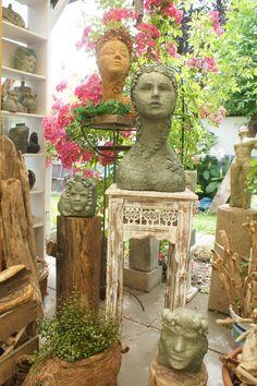Skulpturen von Andrea Langhanki