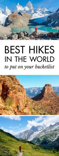 Click pin to discover the best hikes in the world Best Hiking Trails in the World Hiking Tips, Camping And Hiking, Backpacking Trips, Camping Hacks, Baby Hiking, Best Hiking Gear, Hiking Food, Hiking Places, Places To Travel