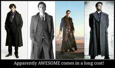 Long coats ...
