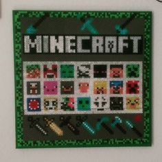Minecraft hama beads by kaldermigbaremarie