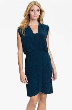Adrianna Papell Draped Jersey Dress available at Nordstrom