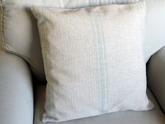 French Laundry  SPA Stripes 20x20 pillow With INSERT by yiayias, $60.00