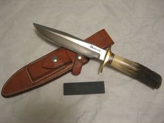 Vintage (60's) Randall made knife model 1-6 (#191813792329) - Collectibles…