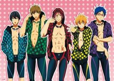 Anime Free! Iwatobi Swim Club - High Grade Laminated Poster Anime Poster http://www.amazon.com/dp/B00KAR9DTM/ref=cm_sw_r_pi_dp_2SaXtb1VTV4JS2KB
