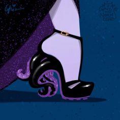 Disney-Inspired Designer Shoes With a Villainous Twist