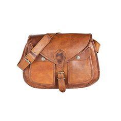 81stgeneration Genuine Vintage Satchel Shoulder Bag College Work City Casual Everyday Messenger Bag ** You can get additional details at the image link.