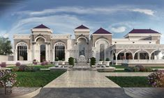 come and design your villa or building or hotel or interior decor or exterior design with us we have fantastic architectural designs and plans and we will make your dream We are professional in our work and our prices are very competitive Classic House Exterior, Classic House Design, Modern Exterior House Designs, Dream House Exterior, Mansion Homes, Interior Design Career, Mansion Designs, Luxury Homes Dream Houses, Villa Design
