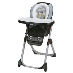 This Graco DuoDiner LX Infant To Toddler High Chair And Booster Seat Features Three Smart Stages That Grow With Your Child