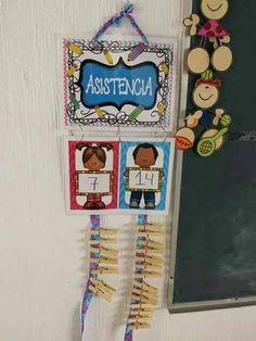 Educación Preescolar: Pases de lista