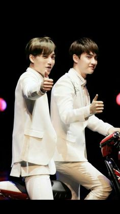 They are soo close. KaiSoo ♡