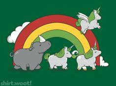 Unicorns are Unicorns, Rhinos are not.   Fierce, Freethinking Fatties