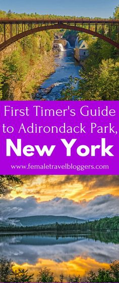 Are you looking for a beautiful park to visit in the US? If so, you have to check out Adirondack Park in New York for scenic views, beautiful wildlife, and more. Come see what you need to know before visiting Adirondack Park in New York and what to see in Adirondack Park before you go. Don't forget to save this Adirondack Park guide to your travel board so you can find it later. #adirondack #adirondackpark #newyork