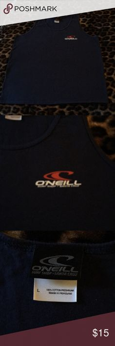 O'Neil Tank Top O'Neil Tank Top in Navy blue. Excellent condition! Only worn a couple times! Purchased at O'Neil Surf Shop Santa Cruz, CA O'neil Shirts Tank Tops