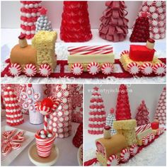 {BN Black Book of Parties} Sweet Dreams Christmas Dessert Table | A Blissful Nest