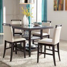 Trishelle 5-Piece Counter Height Dining Set | Nebraska Furniture Mart