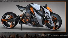 STREET BIKE by Konstantin Laskov, via Behance