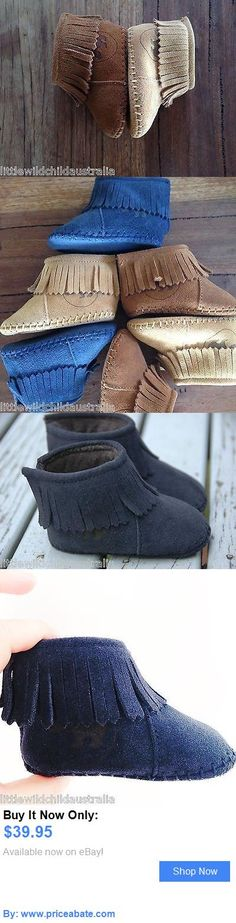 Baby Girls Shoes: Infant Leather Moccasins Kids Leather Shoes Boys Girls Moccs BUY IT NOW ONLY: $39.95 #priceabateBabyGirlsShoes OR #priceabate