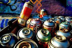 Graffiti cans                                                                                                                                                                                 More