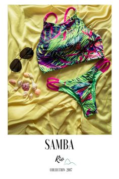 Refreshing, renewal, peace, calming, verdant, nature, health, growth…  The green is a way of life, as our bikin Samba  #fashion #life #lifestyle  #style #travel #green #brazilianbikinis #sea #bikini #summer #beach #rio #shells #sand #holidays #happy #sun #sea