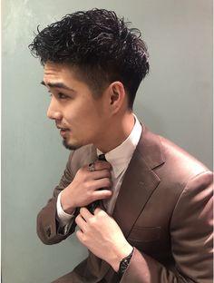 Curly Hair Cuts, Curly Hair Styles, Pop Hair, Asian Men, Asian Guys, Permed Hairstyles, Business Fashion, Hair Designs, Handsome