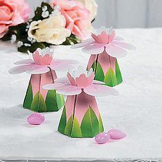 Wedding Flower Favor Boxes
