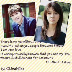 <3 them Look At You, You And I, Love You, Wgm Couples, Ft Island, In This Moment, You And Me, Te Amo, Je T'aime