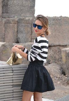 Parfois  Clutches, Oysho  Camisetas and H  Faldas