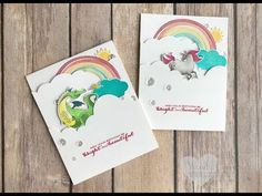 Luvin Stampin is dedicated to Stampin Up. Wendy Cranford teaches Stampin Up tutorials, Stampin Up project ideas and shares about new products. Magic Tricks Tutorial, Easy Magic Tricks, Tutorials, Baby Cards, Kids Cards, Fun Cards, Learn Card Tricks, Rainbow Card, Fantasy Mermaids