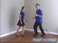 very basic swing dance moves. this youtube page has lots of different videos to help you learn even more swing steps.