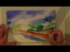 Preview this Watercolor for Beginners video now from http://ArtistsNetwork.tv--Jan Fabian Wallake will help you paint a colorful, sun-filled landscape. Follow along with this demonstration step by step as Jan shares techniques for masking, painting wet into wet, using a spray bottle to create delicate foliage, negative painting, and more for a painting filled with texture and vibrancy!