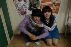 'Reply costars A Pink's Eunji and Seo In Guk have some fun on set Answer Me 1997, Reply 1997, Seo In Guk, Dream High, Eun Ji, Perfect Together, King Louie, Siwon, Getting Cozy