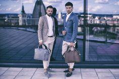 Csak igazi férfiaknak, Brodrene természetes bőrből készült üzleti táskák, hogy ne csak a zakód legyen divatos