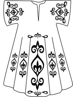 kaftan desenleri serdi filografi kaftan çizim