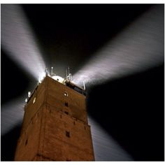 """Brandaris Terschelling """"the only lighttower with 4 beams in the world"""" !!!"""