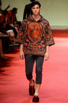 Dolce  and  Gabbana Spring-Summer 2015 Men's Collection