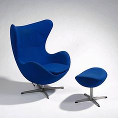The Egg chair designed by Arne Jacobsen 1955.