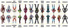 D.C. Villains Character Sheet 065