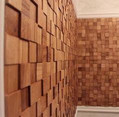 деревянная мозаика 3д от Паркетков