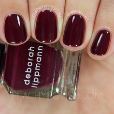 Deborah Lippmann Mulberry's Dream | Very Berry Mini Set | Peachy Polish
