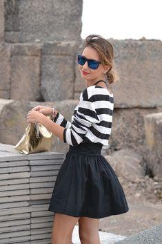 Fall 2013 Trend: Black and White Street Style Fashion - Fashion Diva Design