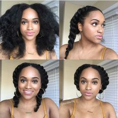 Looking for a way to wear your hair but without needing to rely on cornrows? You need to check out these gorgeous flat twist hairstyles! Flat Twist Hairstyles, Black Girls Hairstyles, Afro Hairstyles, Gorgeous Hairstyles, Hairstyles 2016, Updo Hairstyle, African Hairstyles, Trendy Hairstyles, Wedding Hairstyles