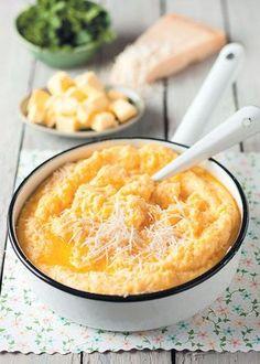 Creamy polenta / Die romerigste en lekkerste polenta
