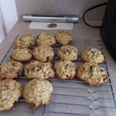 Oatmeal Date Cookies - Allrecipes.com. Made these today with several modifications. Delicious! Less shortening Added applesauce, nutmeg and allspice. Reduced sugar by half. Used cranberry and sunflower seed in place of nuts